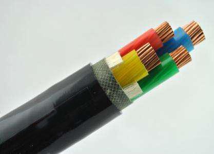 矿用移动金属屏蔽监视型软电缆