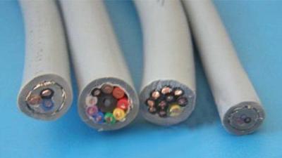 高柔耐磨拖链电缆