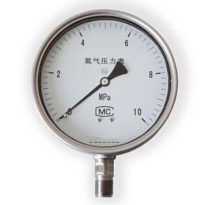 氮气压力表