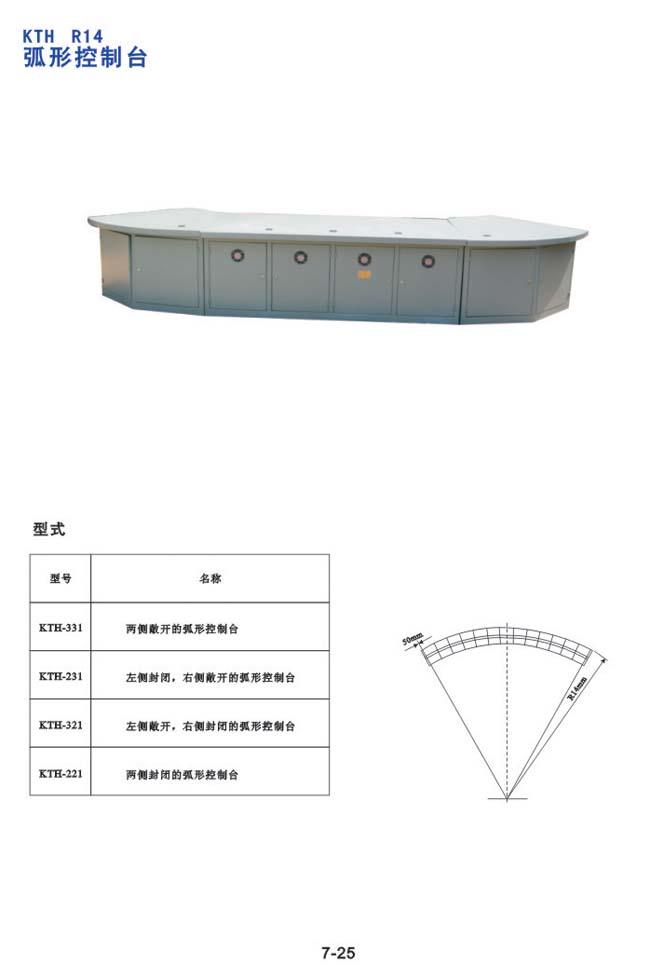 KTH R14 弧形控制台